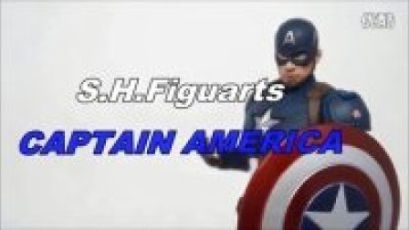 【Carney-Rider】美国队长3内战S.H.Figuarts美国队长