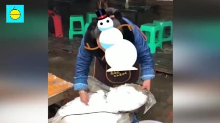 商机! 南方雪都能卖出高价: 成都的雪20一盆
