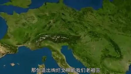 最早的中国地图有千年历史, 长宽只有1米, 却另英