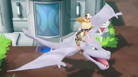 【逍遥小枫】破碎琥珀化石, 捕获化石翼龙! ! | 精灵宝可梦Let's GO #26