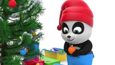 萝卜玩具宝宝 一起来装扮圣诞树吧