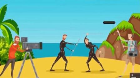 一个剧组在荒岛拍戏, 其中一个演员被害了? 请找出凶手
