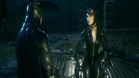 【蝙蝠侠: 阿卡姆骑士】08: 蝙蝠侠与猫女