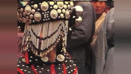 《追日》王祖贤嫁鬼王这段, 这服装再配上这音乐真的有点瘆人!