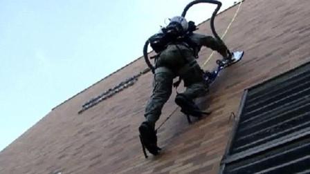 外国团队发明爬墙机, 可以在墙上飞檐走壁, 实现你的武侠梦