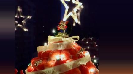 风味人间: 圣诞节草莓蛋糕, 女友最爱