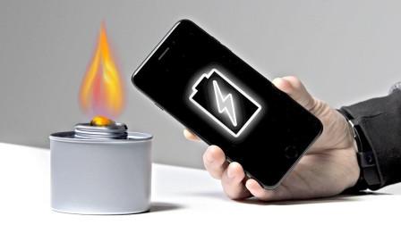 停电无须担心, 点根蜡烛就能充电, 它是怎么做到的