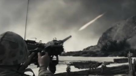 【父辈的旗帜】二战美军攻打德军驻守的山头, 场面激烈