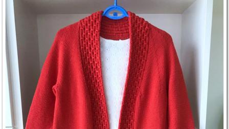 《一线连大衣》的编织方法(4):袖子部分怎么编图解视频