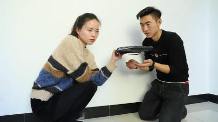 老公偷偷花了家里的暖气费, 老婆只问一个问题, 老公就被拆穿, 真逗啊