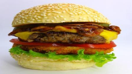 澳洲进口牛肉饼汉堡肉饼