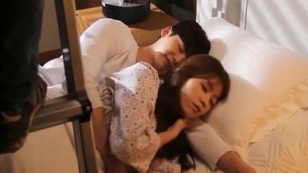 原来剧里同床共枕的戏是这么拍的, 不尴尬吗? 看李钟硕韩孝周表情