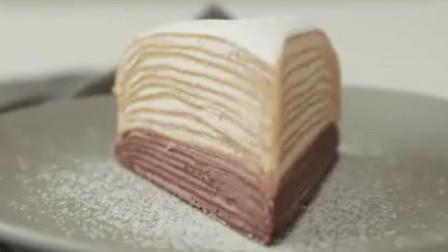 摩卡咖啡千层蛋糕制作教程! 9