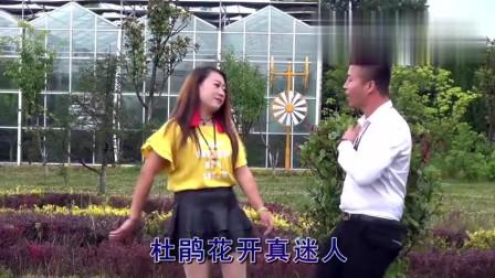 贵州山歌是这样歌唱的, 漂亮的姑娘, 陪哥一起看杜鹃!