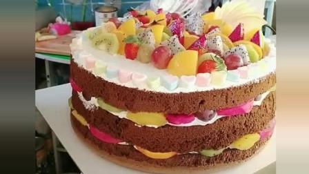 风味人间: 手把手教你做一款水果蛋糕, 绝对好吃