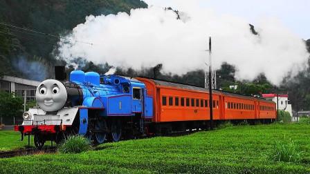 太厉害了吧! 现实生活中的托马斯小火车你们见过吗? 玩具故事