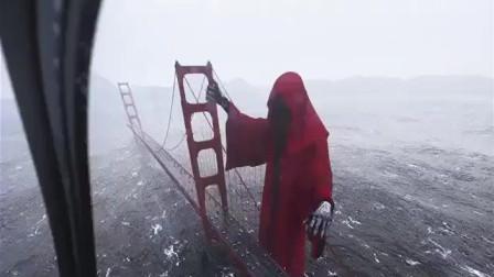 上帝来惩罚人类了吗! 大桥惊现巨大死神