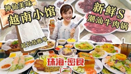 珠海密食2·珠海美食寻宝图! 偶遇极品越南菜, 隔着屏幕飙口水
