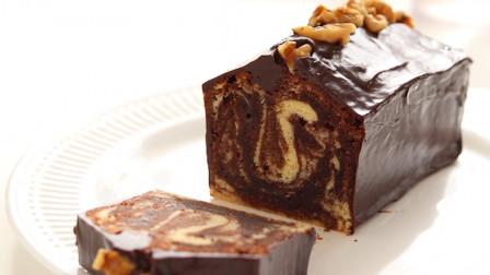 香浓巧克力磅蛋糕, 浓郁湿润的下午茶甜点