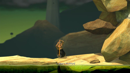 【森林解说】★Getting Over It★《这款游戏已经让我崩溃》| 掘地求生抡大锤