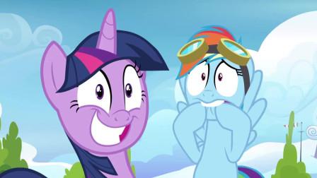 小马宝莉6: 紫悦帮的两匹小马在自己面前吵架了, 好尴尬啊