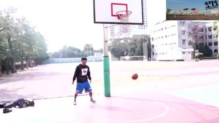 篮球教学: 欧文的招牌动作, 果冻上篮, 又学会一招