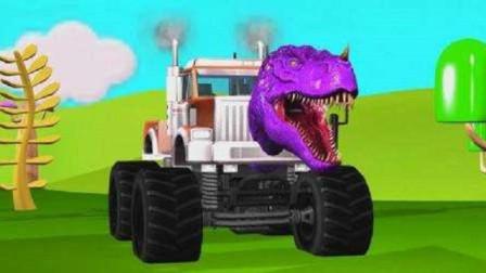 穿上恐龙装, 开起拖拉机, 我就是这条街上最靓的霸王龙!
