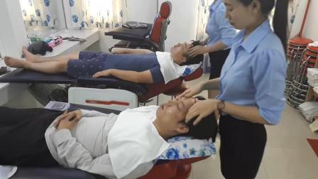 越南面部护理, 手法很专业, 特别解压