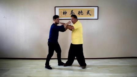 难得一见, 内家老拳师演示左右力量运用, 这才是真正的武术!
