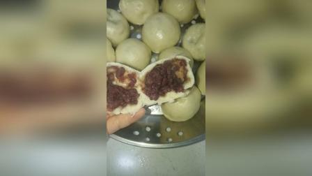 红豆包 花卷
