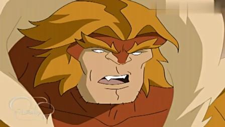 终极蜘蛛侠, 剑齿虎来找金刚狼麻烦, 却碰到在金刚狼身体的蜘蛛侠