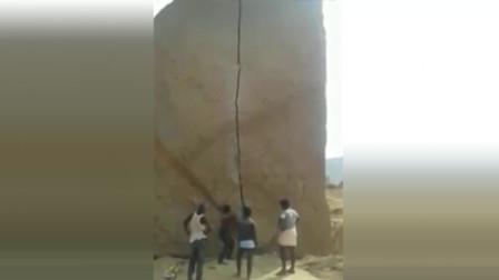 只要坚持, 铁柱都能磨成针, 他们做到了, 石头真的砸开了