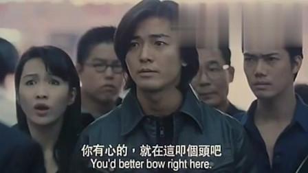 古惑仔: 陈浩南有情有义, 即使千夫所指, 也要送大哥最后一程