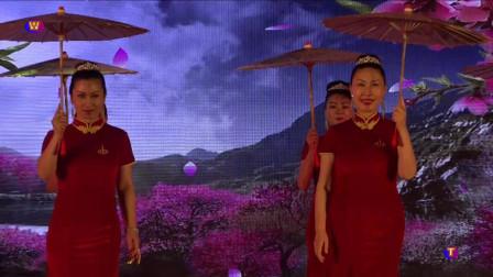 旗袍秀《中国茶》中华最美夫人国际大赛云南赛区女人花旗袍队