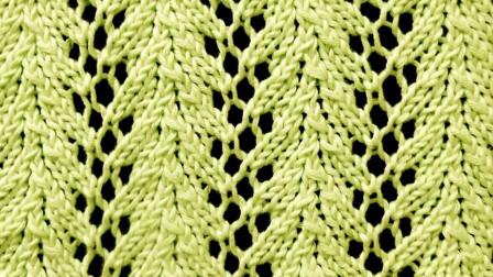 简简单单织出美丽花样, 一款葡萄藤镂空针教程, 适合蕾丝线编织!