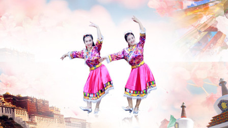 糖豆广场舞课堂 《藏族情歌》藏族舞教学