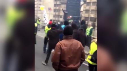 """""""黄背心""""闯进了法国政府大楼!"""