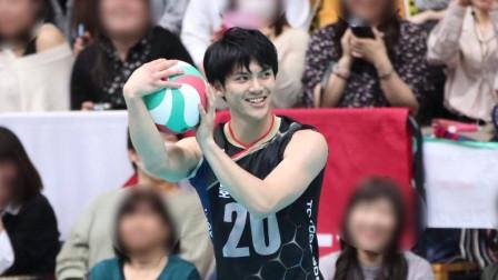 川口太一! 日本春高最佳自由人, 现实版的排球少年!