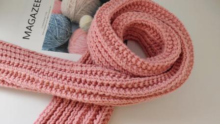 第6集瑶妈编织相思扣围巾手工编织视频教程怎么织毛线编织法