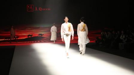 2019中国国际时装周 谢家齐《丝路·重生》时装大秀及化妆师花絮