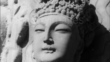 1963年的重庆大足石刻 世界文化遗产