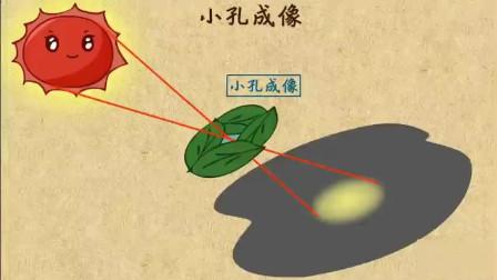 初中物理小孔成像, 你学会了吗?