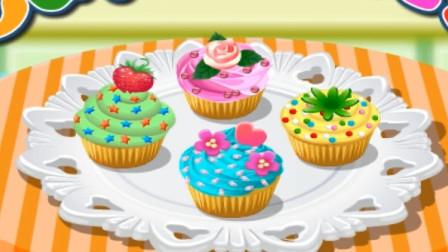 彩泥橡皮泥炫彩纸杯蛋糕过家家玩具.mp4