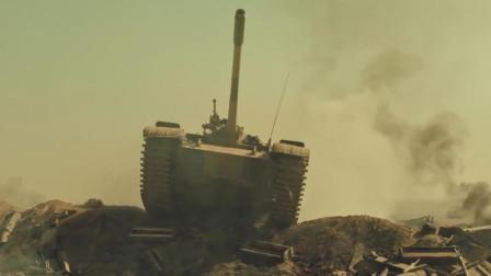 伊拉克69式坦克部队纵横沙场, 伊朗战士拿RPG围攻, 最新战争片