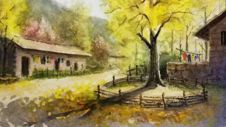 手绘帮水彩团练群第45期作品评讲, 水彩画教程