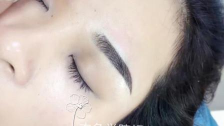 纹绣师遇到遇到做坏的眉毛和红眉蓝眉怎么办, 如何操作眉毛才好看