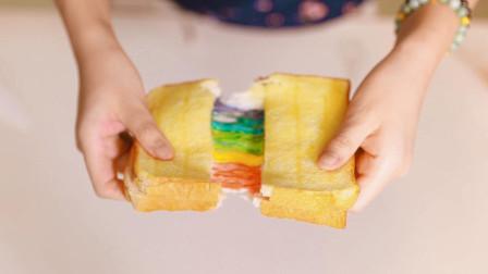 风靡国内外的珍珠奶茶蛋糕、彩虹土司, 看了视频在家也能轻松做