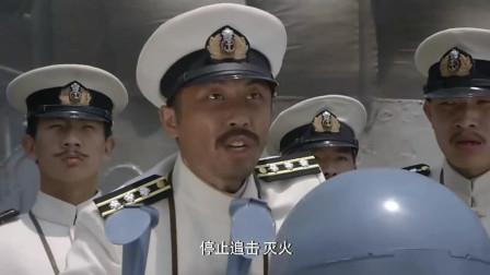 东方有大海: 日本被中国海军打到认怂, 连挨2炮, 忙喊停止追击