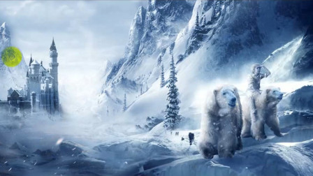 """平面设计海报合成学习 零基础带你PS制作""""冰雪古堡""""海报设计"""