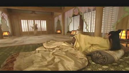 唐明皇接来杨玉环, 早晨竟起的这么晚, 真是: 春宵苦短日高起, 从此君王不早朝!